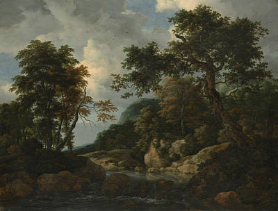 Painting - The Forest Stream by Jacob van Ruisdael