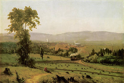 Photograph - The Lackawanna Valley by George Inness