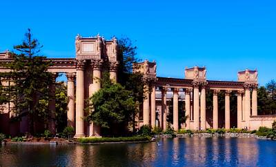 Photograph - The Palace Of Fine Arts by L O C