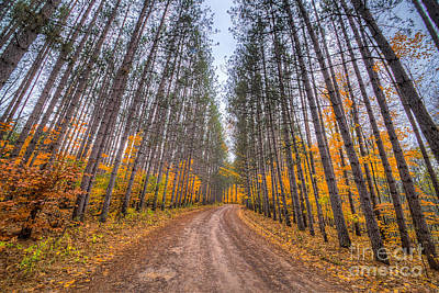 Bend Photograph - The Road To Rainbow Bend by Twenty Two North Photography