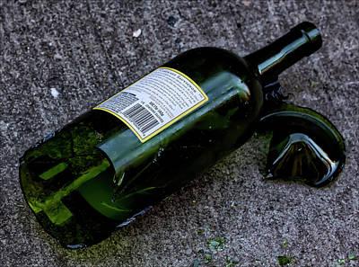 The Romance Of Alcohol Art Print