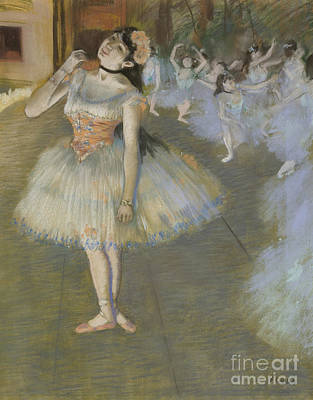 The Star Art Print by Edgar Degas