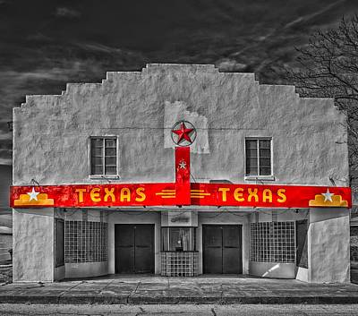 The Texas Theatre Art Print