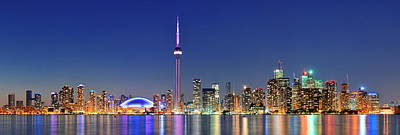 Photograph - Toronto Cityscape by Songquan Deng
