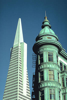 Photograph - San Francisco Architecture by Carl Purcell