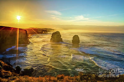 Photograph - Twelve Apostles Victoria by Benny Marty