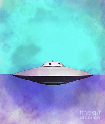 Royalty-Free and Rights-Managed Images - Ufo by Esoterica Art Agency