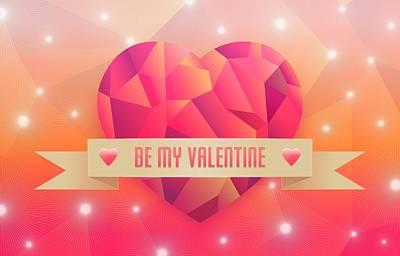 Design Digital Art - Valentine's Day by Maye Loeser