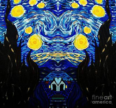 Van Gogh Starry Night Original by Scott D Van Osdol