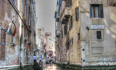 Pyrography -  Venice by Yury Bashkin
