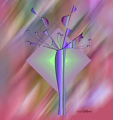 Digital Art - Vision by Iris Gelbart