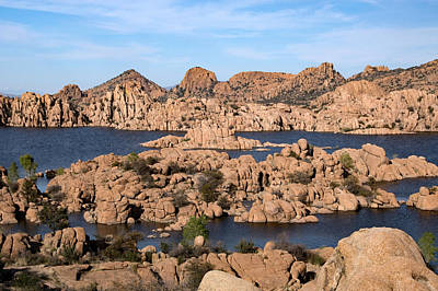 Watson Lake Park, Arizona, Usa Art Print