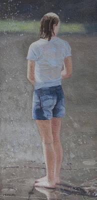 Painting - wet by Masami Iida