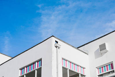 30s Photograph - White Building by Tom Gowanlock