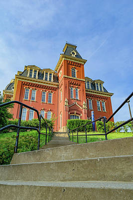 Woodburn Hall Photograph - Woodburn Hall At West Virginia University by Cityscape Photography