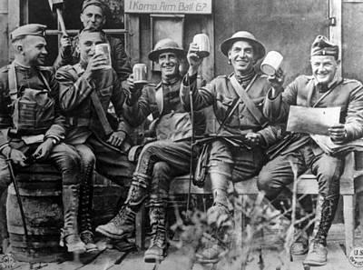 World War I, American Soldiers Art Print