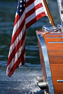 Yacht Ensign Print by Steven Lapkin