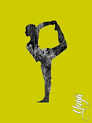Yoga Mixed Media - Yoga Collection by Marvin Blaine