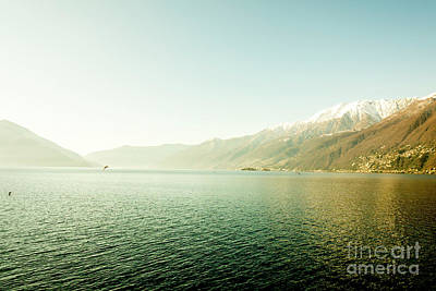 Photograph - Alpine Lake by Mats Silvan