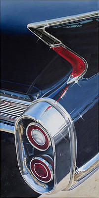 Painting - 60 Cadillac Coupe De Ville by Rob De Vries