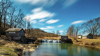 Photograph - 60 Seconds At Hyde's Mill by Randy Scherkenbach