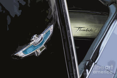 Photograph - '60 T-bird by Dennis Hedberg