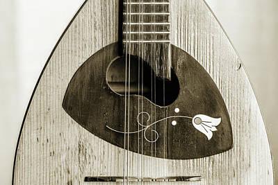 Photograph - 60.1845 Framus Mandolin by M K Miller