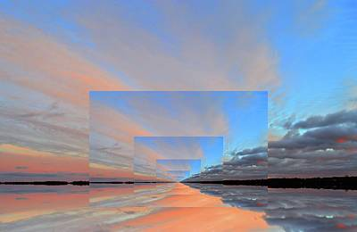 Digital Art - 6.04 Pm Three  by Lyle Crump