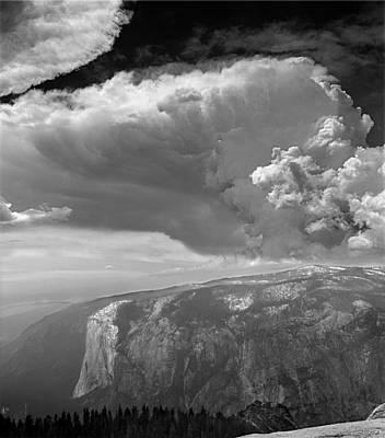 Photograph - 606725 Thunderhead Over El Capitan by Ed Cooper Photography