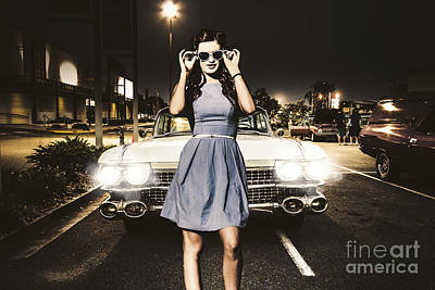 60s American Car Culture Art Print by Jorgo Photography - Wall Art Gallery