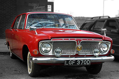 Photograph - 60s Ford by Jez C Self
