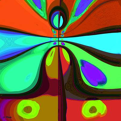 Digital Art - 60s Free Love by Alec Drake