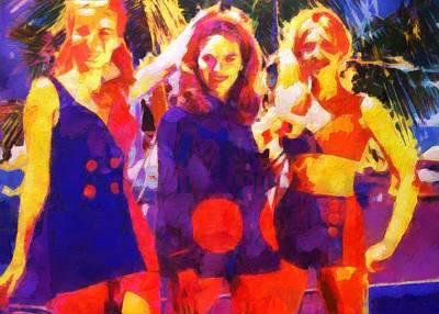 Painting - 60's Mod by Lelia DeMello
