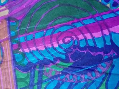 60's Spiral Center Art Print