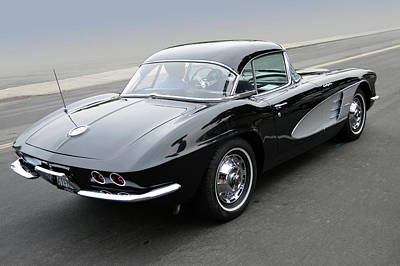 Photograph - 61 Corvette Fuelly by Bill Dutting