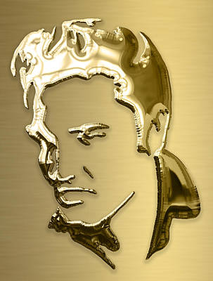 Musicians Mixed Media - Elvis Presley Collection by Marvin Blaine