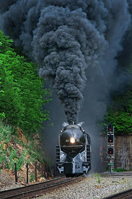 611 Photograph - 611 Exiting The Montgomery Tunnels by Matt Plyler