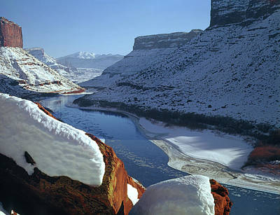 Photograph - 612701 Near Moab In Winter 2 by Ed Cooper Photography