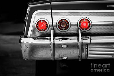 Photograph - '62 Chevy by Dennis Hedberg