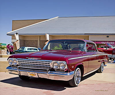 Photograph - 62 Chevy Impala_1a by Walter Herrit