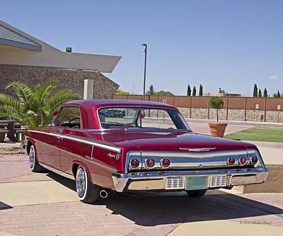 Photograph - 62 Chevy Impala_1b by Walter Herrit