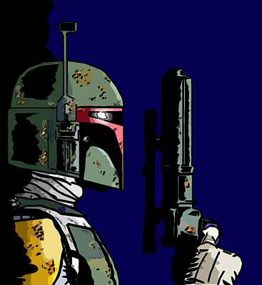 Star Wars Print by Elena Kosvincheva