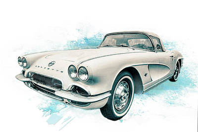 Photograph - 62' Vette by Ches Black