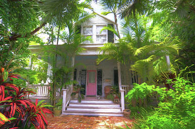 620 Elizabeth Street - Key West Florida Art Print
