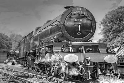 Photograph - 6201 Princess Elizabeth At Swanwick by David Birchall
