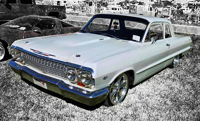 Photograph - '63 Chevy Biscayne by Victor Montgomery