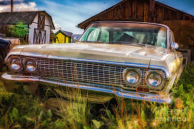 Photograph - 63 Impala by Bitter Buffalo Photography