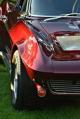 Photograph - 63 Corvette by Dean Ferreira