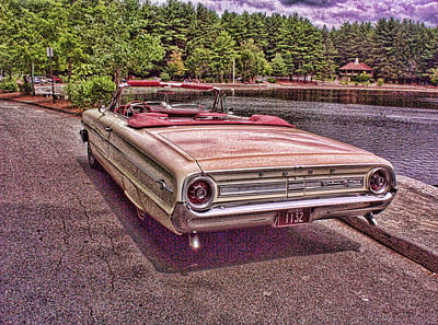 64 Ford Art Print by Paul Godin