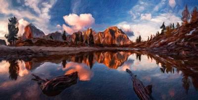 Bob Ross Digital Art - G H Landscape by Victoria Landscapes